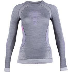 UYN Fusyon UW Koszulka z długim rękawem Kobiety, anthracite/purple/pink